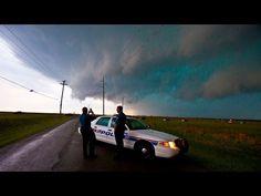 Storm Chase - Lawton & Frederick Tornado Warned Storms, Oklahoma - 17th April 2013 - YouTube