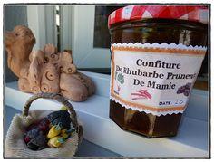 Confiture de rhubarbe aux pruneaux au Thermomix - BLOG LA GUILLAUMETTE -