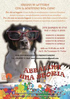 """""""Abbaiami una storia"""": a Torino ConTEsto vara i gruppi di lettura con cane :http://www.qualazampa.news/2017/02/23/abbaiami-una-storia-a-torino-contesto-vara-i-gruppi-di-lettura-con-cane/"""