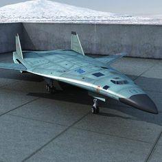 Pak DA Russian stealth aircraft