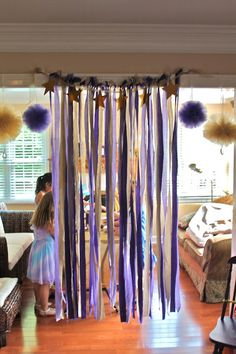 Pop star party decorations