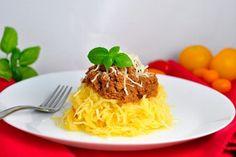 Nízkokalorické, Obedy a večere, Zelenina | fitrecepty.sk Pumpkin Recipes, Tofu, Spaghetti, Beef, Ethnic Recipes, Fitness, Meat, Ox, Ground Beef
