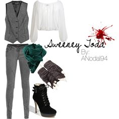 Sweeney Todd by anodal94 on Polyvore
