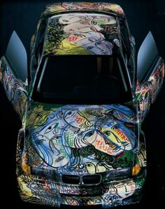 BMW's Art Car Collection...  www.bmwinfo.com