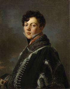 Portrait de Jules de Rességuier, en Uniforme, 1801-1805 by Baron François-Pascal-Simon GERARD