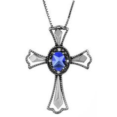 Diamond Tanzanite December Birthstone Cross Pendant In Black Rhod White Gold Gemologica.com offers a unique simple selection of #handmade #fashion #fine #jewelry for #men #women #children to make a statement. We offer #earrings #bracelets #necklaces #pendants #rings with #gemstones #diamonds #birthstones available in Sterling #Silver 10K 14K 18K #yellow #rose #white #gold #titanium silver #metal. Shop Gemologica jewellery now for cool cute design ideas Gemologica Customer Reviews