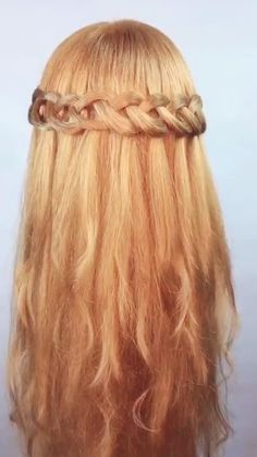 Formal Hairstyles, Summer Hairstyles, Fairy Hairstyles, Braided Hairstyles, Prom Hair, Updos, Celtic Hair, Curly Hair Styles, Braids