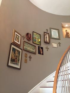 """Catholic Home Decor: A Little Heaven at Home: Remodel of home """"after the flood"""""""