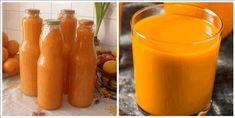 V období, keď všade naokolo zúri epidémia, je prísun vitamínov veľmi dôležitý. Deti milujú sladené džúsy a farebné nápoje, vyrobte pre celú rodinu zásobu vynikajúceho drinku – domáceho vitamínového zázraku. Chutí fantasticky, neobsahuje cukor a obsahuje množstvo vitamínov a živín! Potrebujeme: 500 g mrkvy 4 jablká (ideálne sladšie odrody) 3-4 pomaranče 2 citróny Med, stéviu... Food And Drink, Stuffed Peppers, Vegetables, Drinks, Health, Pump, Syrup, Drinking, Beverages