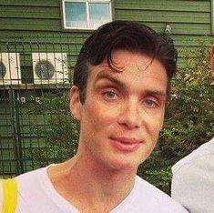 """Cillian Murphy doesn't care about his fans. Handsome Actors, Hot Actors, Cillian Murphy Tommy Shelby, Murphy Actor, What Meme, Cillian Murphy Peaky Blinders, Alex Pettyfer, Lauren Bacall, Pretty Men"