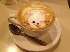 This next subject, cappuccino, hardly makes up for the fact that there are no cafes on base or near base. However, there are places in . Coffee Break, Fundraising, Kawaii, Tableware, Night Pictures, Versailles, Beautiful Things, Beverages, November