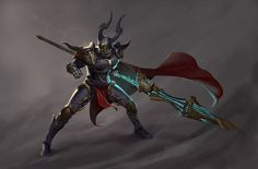 Darkness Knight, bom Yeon on ArtStation at https://www.artstation.com/artwork/darkness-knight