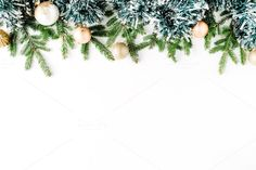 #Christmas composition  Christmas composition with fir branches pine cones christmas balls and tinsel. Flat lay composition for bloggers magazines websites social media business owners and artists. This purchase includes one high resolution horizontal digital image. Image is a sRBG jpg and is approximately 5393x3595 pixels. Look for some other Christmas compositions: http://ift.tt/2fvNNkt License terms: http://ift.tt/1W9AIer