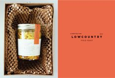 Lowcountry Field Feast Invitation — The Dieline - Package Design Resource