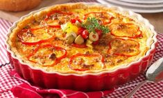 Swedish Recipes, Crepes, Quiche, Casserole, Recipies, Food And Drink, Pizza, Meat, Cooking