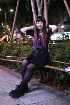 "my-selfish-love: "" moca follow for more japanese fashion """