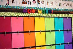 Kindergarten classroom setup - Bulletin Board Hacks to Save Your Sanity – Kindergarten classroom setup Kindergarten Classroom Setup, 2nd Grade Classroom, Classroom Organisation, Classroom Bulletin Boards, New Classroom, Classroom Design, Classroom Themes, Kindergarten Calendar Board, Apple Bulletin Board Ideas