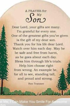 Prayer for all 4 of my sons,:-)Daniel, Josh, Austin, and Christopher!