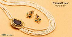 Royal Tradional Antique Panch Lada Rani Haar Studded With Blue Stone PRODUCT CODE: 405191 #fashion #jewelry #women #king #world #royal #chrisem