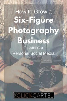 Your personal social media accounts are the perfect places to get photography clients. How to grow a six figure photography business through your personal social media with professional photographer Margarita Corporan. #wah #photography