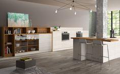 HAKA Küche // 95 Table, Furniture, Home Decor, Made To Measure Furniture, Interior Design, Home Interior Design, Desk, Tabletop, Arredamento