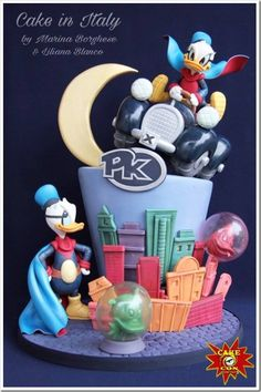 This Duck Avenger Cake Is Here To Save The Day!