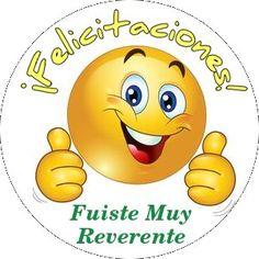 stickers para premiar la reverencia en clases.