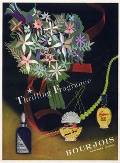 Bourjois parfums, 1945