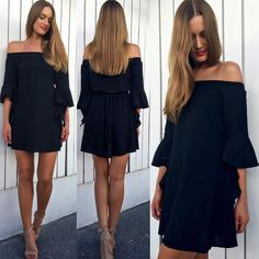 Hair straightening! Our 'Coco' dress in black has just been restocked! Also now available in khaki > http://ift.tt/1n5XLTQ #petalandpup by petalandpup