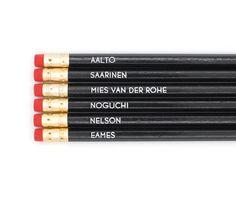 Mid Century Designers Pencils