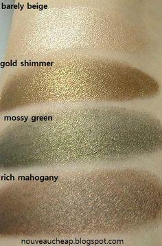 Maybelline Limited Edition Fall 2012 Fashion Week Color Tattoo Eyeshadows