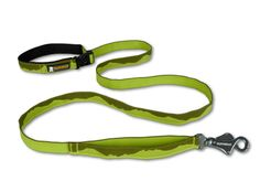 The Flat Out Leash features a side release buckle that allows for three handle conversions:  1. Hand-held leash (for a standard walk)  2. Waist-worn leash (for a hands-free adventure)  3. Fixed leash (clipped around a tree or post while you run to grab a cup of coffee). Graphics inspired by the Cascade Mountains in our backyard.