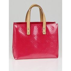 Louis Vuitton Framboise Monogram Vernis Reade PM Bag Luxury Shoes, Hermes Birkin, Monogram, Footwear, Louis Vuitton, Brand New, Handbags, Boutique, Stuff To Buy