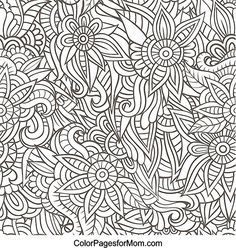 Doodles 35 Coloring Page