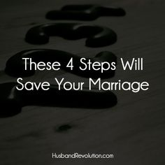 These 4 Steps Will Save Your Marriage --- I was 25 when I got married and it didn't take long to realize that I was in no way prepared for it. The divorce threat was thrown out every time an argument occurred (which was on a daily basis) and I started to Fixing Marriage, Broken Marriage, Strong Marriage, Saving Your Marriage, Save My Marriage, Marriage Relationship, Happy Marriage, Love And Marriage, Marriage Promises
