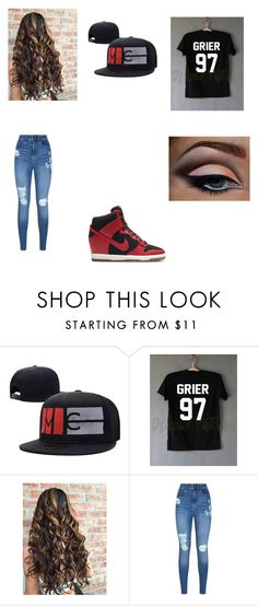 """""""Magcon."""" by claramcclendon ❤ liked on Polyvore featuring Lipsy and NIKE"""