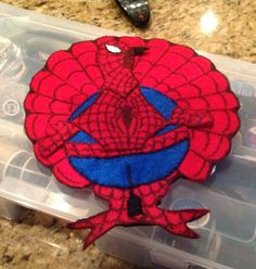 Spider-Man Turkey Disguise
