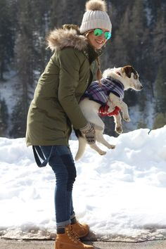 Trench Collection by Sonia Verardo: Cortina d'Ampezzo, having fun in the snow with my ...