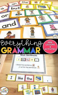 5 grammar teaching tips for primary students - Kindergarten Smarts