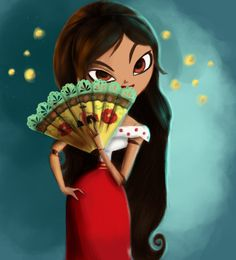 Another Book of Life Fanart. Maria (Book of Life Fanart) Cartoon Movies, Cartoon Art, Book Of Life Movie, Popular Halloween Costumes, Mexico Art, Anime Poses, A Day In Life, Fanart, Disney Fan Art