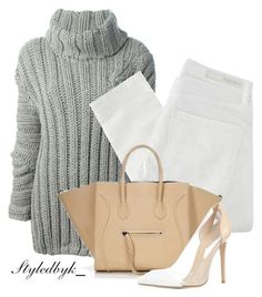 KG.-™ by kathygarcia93 on Polyvore featuring polyvore fashion style Jay Ahr Nobody Denim Gianvito Rossi clothing