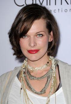 #Milla #Jovovich #Jewelry - Layered Eye-Catching Pearls