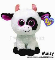 beanie boo cow - Google Search
