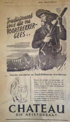 Suid Afrika Advertensie 1938
