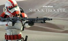 The Hot Toys Shock Trooper Sixth Scale Figure is now available on Sideshow.com for fans of Star Wars Battlefront video game.