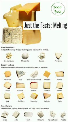 For all you cheese lovers! January 20 is 'Cheese Lovers Day' Here's a cheese melting guide (Cheese Fondue Ideas) Fondue Recipes, Cooking Recipes, Easy Recipes, Cooking Hacks, Cooking Oil, Raclette Recipes, Cooking Light, Fondue Ideas, Cooking Beets