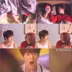 Emergency Couple - none of them had any idea what was going on so the just all screamed