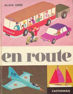 en route  - vintage book cover