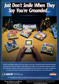 The simple, yet genius ads of the early 90's. - Imgur