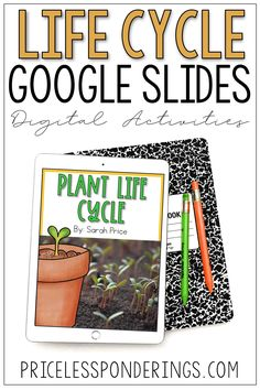 Plant life cycles will come to life with these internet activities and google slides worksheets. This no-prep resources is perfect for distance learning.